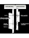 Cerradura electromecánica INDX22