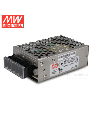Fuente alimentación 12V Meanwell - RS-25-12