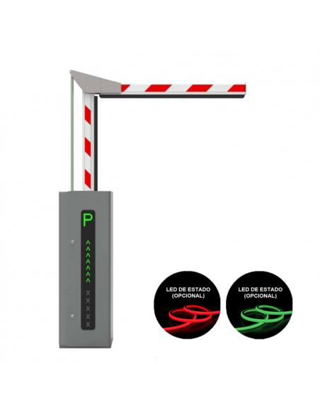 Barrera articulada para paso de vehículos