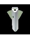 Pasillo motorizado de doble aleta para varios canales de acceso