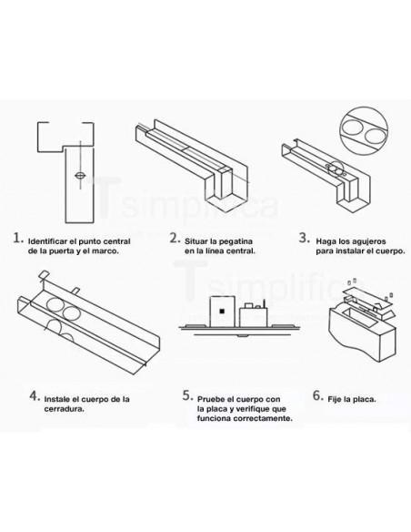 Electropistón mini - Dimensiones