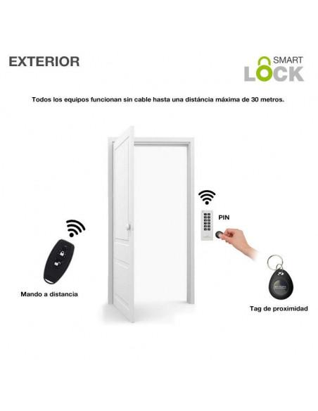 Cerradura invisible SmartLOCK - Exterior