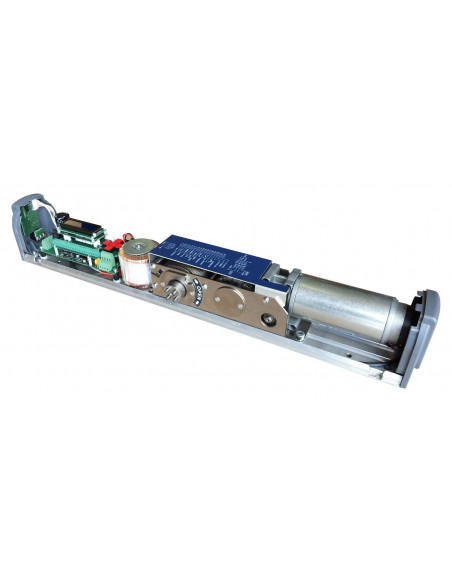 Abrepuertas motorizado con brazo universal