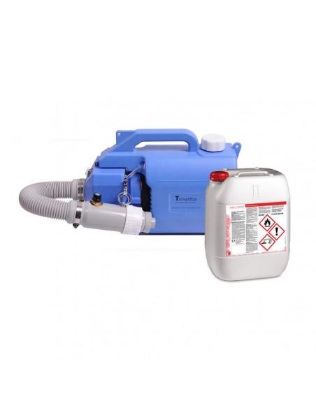 Pack Equipo desinfectador y esterilizador + 5 litros de desinfectante.