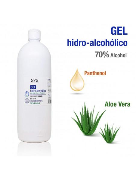 Gel hidro-alcohólico con aloe vera