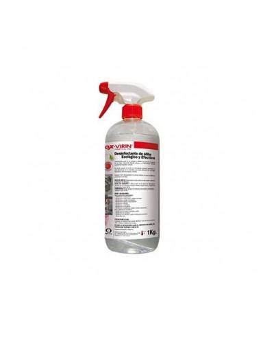 Desinfectante eficaz para ropa y todo tipo de superficies frente al Coronavirus