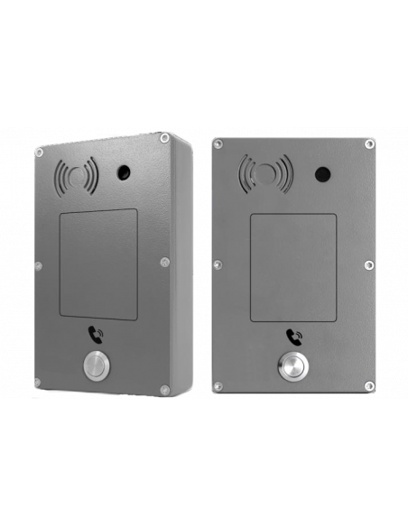 Intercomunicador Panphone IP-SIP Anti-vandálico - Neutro