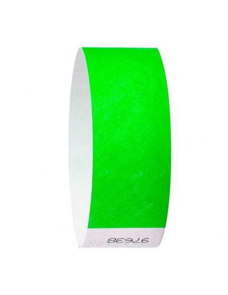 Pulsera desechable Tyvek® DuPont™ Verde
