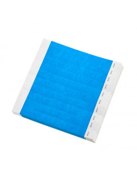 Pulsera desechable Tyvek® DuPont™ Azul - Presentación