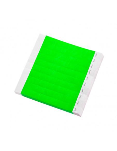 Pulsera desechable Tyvek® DuPont™ Verde - Presentación