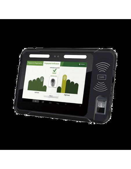 Tablet biométrico de mano y pared 4G, WIFI, NFC, FAP20, GPS, Cámara, Android, DUAL SIM