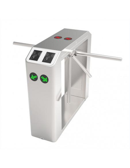 Torno Trípode semi-automático bidireccional de doble brazo - RFID