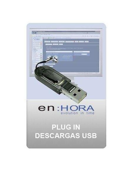 Conector descargas USB enHORA