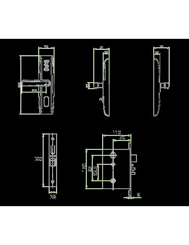 Cerradura RFID para hoteles