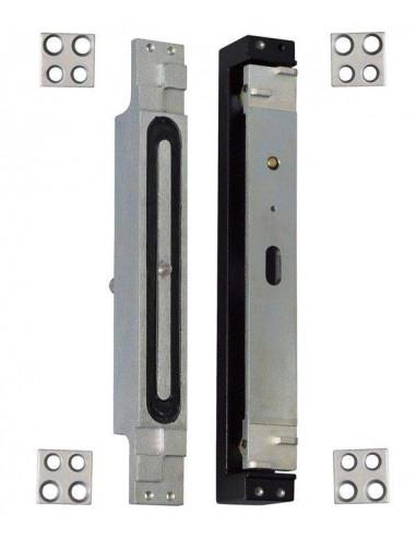 Cerradura electromagnética empotrable de cizalla 800 Kg.