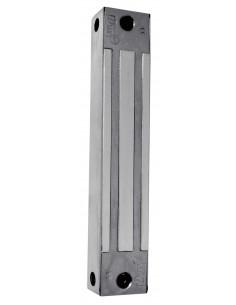 Cerradura electromagnética de superficie 180Kg Acero Inox monitorizada