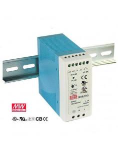 Fuente de alimentación carril DIN 12V 3,2A.