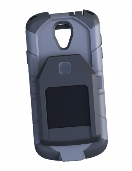 Funda Smartphone con lector de 1 a 2 huellas certificado FBI Mobile ID IQS FAP 45