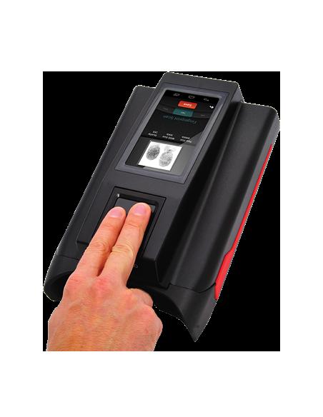 Plataforma biométrica móvil - Huellas, cara, iris con S.O. Android
