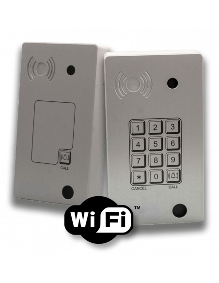 Intercomunicadores IP-WIFI Anti-vandálico (Panphone)  - Superficie