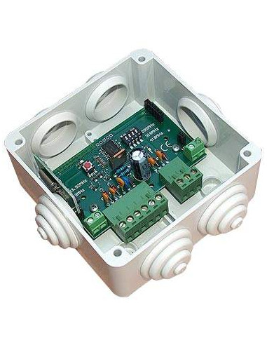 Receptor RF 433MHz con salida wiegand IP65 - Seguridad keeloq® rolling code