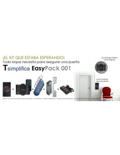 Pack control de acceso EasyPack 001