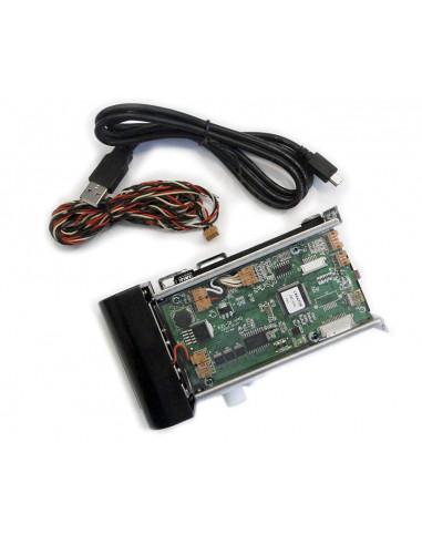 Lector/grabador motorizado para tornos