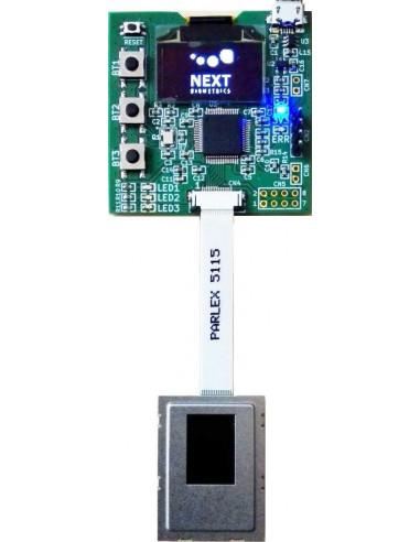 Placa de evaluación del lector de huellas para integración Match-on-Chip - NBDK-1411-SP