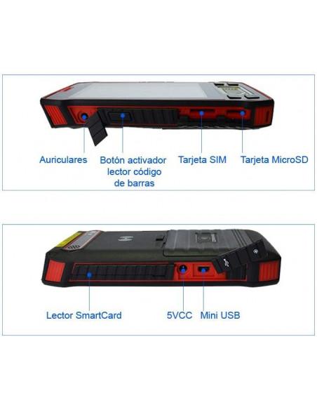 "Terminal portátil Multi-tecnología 5"" - Descripción"