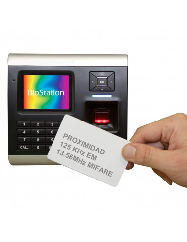 BioStation - Terminal biométrico de huella dactilar