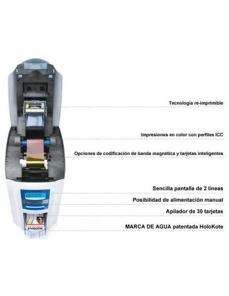 Impresora de tarjetas de PVC Enduro3E
