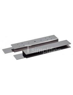 Adaptador en U para la instalación en puerta de cristal de la cerradura Shearlock Mini