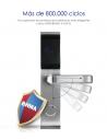 Cerradura RF para hoteles con llave de emergencia
