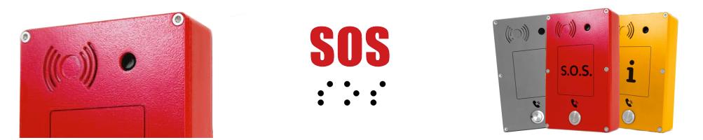 Panphone intercomunicadorpara Emergencia SOS