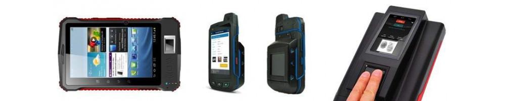 Lectores Biométricos Portátiles de Huella e Iris