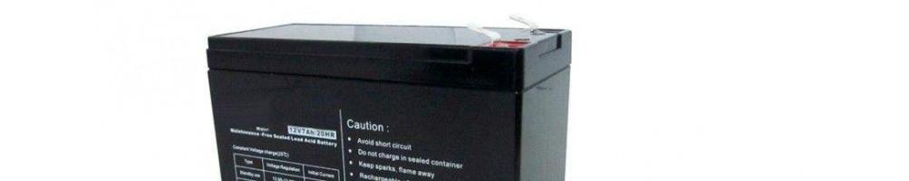 Comprar Baterías AGM 12v para Sistemas de Seguridad
