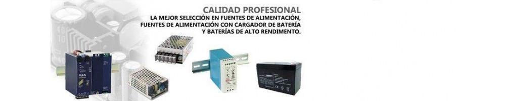 Fuentes de alimentación y baterías